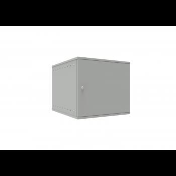 Шкаф телекоммуникационный настенный 9U, 523х600х465мм серия LITE (металлическая дверь)