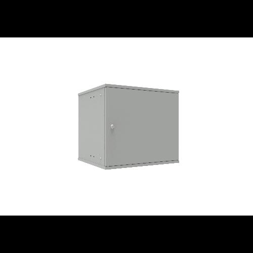 Шкаф телекоммуникационный настенный 9U, 523х450х465мм серия LITE (металлическая дверь)
