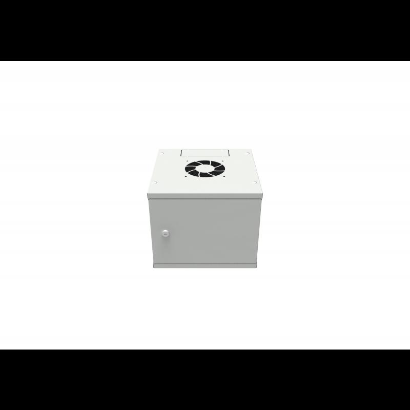 """Шкаф телекоммуникационный настенный 4U, 10"""" 294х300х243мм серия LITE (металлическая дверь) (потрепанная упаковка)"""