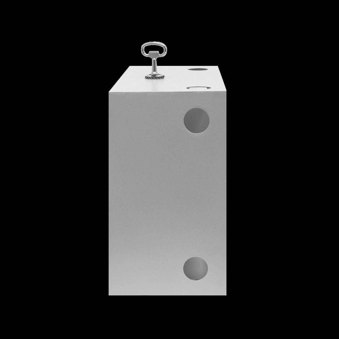 Этажная коробка универсальная распределительная, тип-пенальная, почтовый замок, 300х530х150 мм