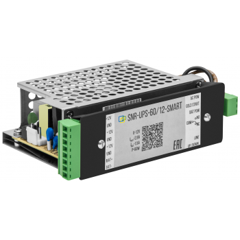 Устройство бесперебойного питания RPS с выходом 12В/60Вт, с функцией мониторинга и холодного старта (RPS14)