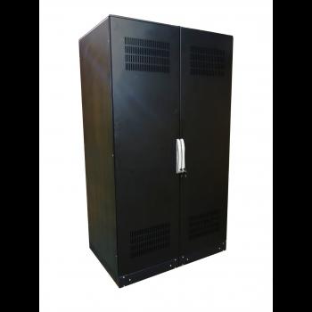 Аккумуляторный шкаф 10 полок, с отсеком для автомата,2000х1200х800мм (SNR-UPS-BCT-201208-10)