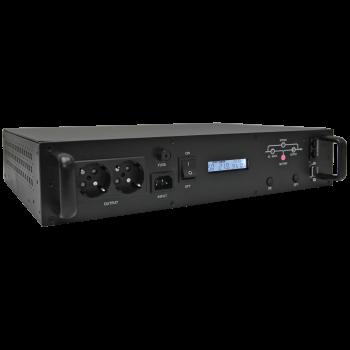Источник бесперебойного питания Line-Interactive, 1000 VA, Rackmount LCD (чистый синус на выходе), уценка после ремонта