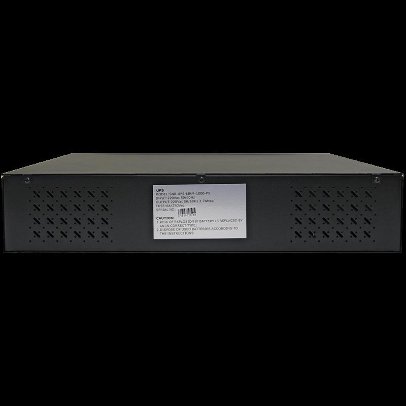Источник бесперебойного питания Line-Interactive, 1000 VA, Rackmount LCD (чистый синус на выходе)