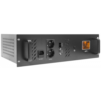 Источник бесперебойного питания Line-Interactive, 1000 VA, Rackmount LCD