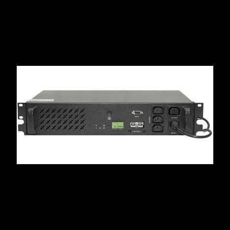 Источник бесперебойного питания Line-Interactive, 500 VA, Rackmount, без встроенных АКБ (ток заряда 4А) после теста, следы монтажа