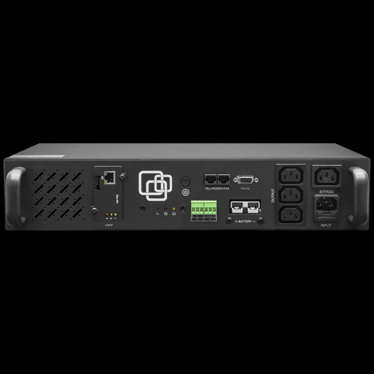 Источник бесперебойного питания Line-Interactive, 500 VA, Rackmount, без встроенных АКБ (ток заряда 4А) c SNMP картой