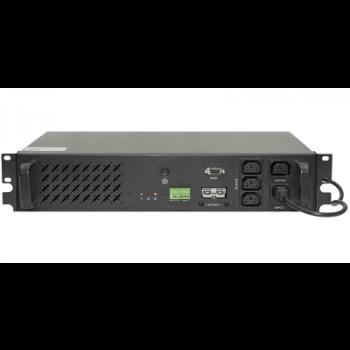 Источник бесперебойного питания Line-Interactive, 500 VA, Rackmount, без встроенных АКБ (ток заряда 4А)