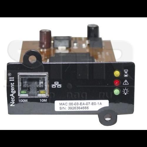 Модуль удаленного мониторинга SNR-UPS-ODC-SNMP-CARD для ИБП серии SNR-UPS-ODC