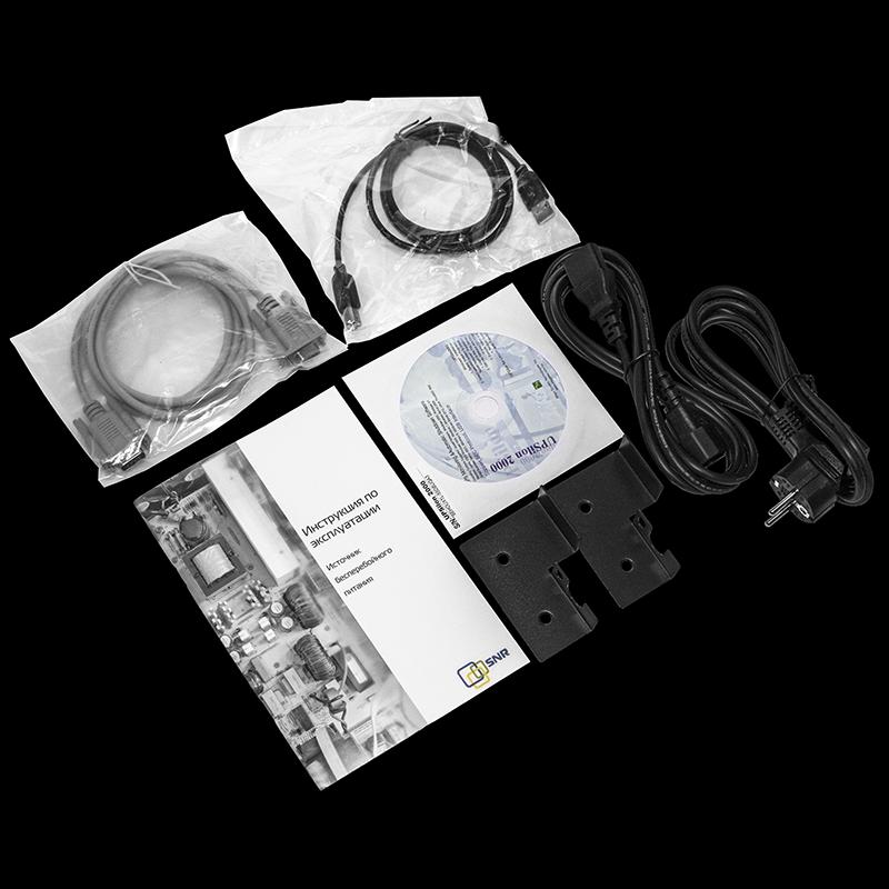 Источник бесперебойного питания SNR серии Element, 1000 VA, 24VDC (набор с салазками)