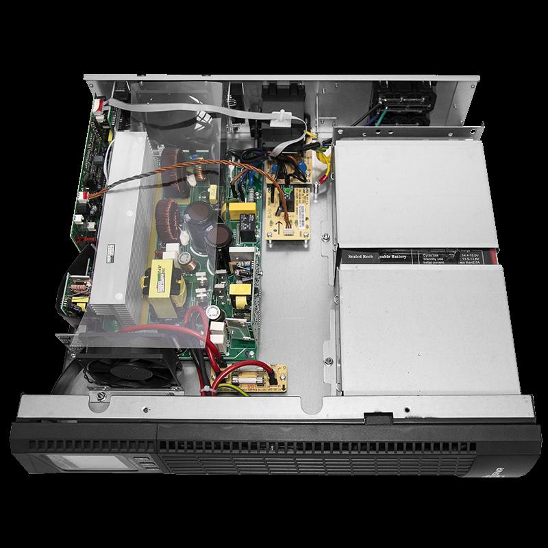 Источник бесперебойного питания on-line SNR серии Element, 1000 VA, 36VDC, 900Вт х 28 мин (ИБП, блок батарей, cалазки, SNMP)