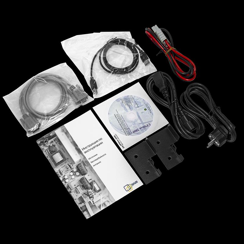Источник бесперебойного питания on-line SNR серии Element, 1000 VA, 24VDC, без АКБ (ток заряда 6А)