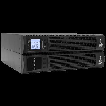 Источник бесперебойного питания on-line серии Element, 2000 VA, 48VDC, 1600Вт х 20 мин (ИБП, блок батарей, cалазки, SNMP)