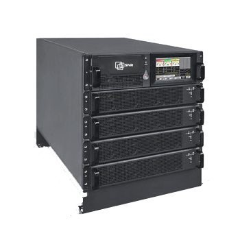 Шасси модульного источника бесперебойного питания 40 кВА/40 кВт серии СМ, 4 слота для силовых модулей 10 кВА/10 кВт (SNR-UPS-ONRT-040-10CMX33)