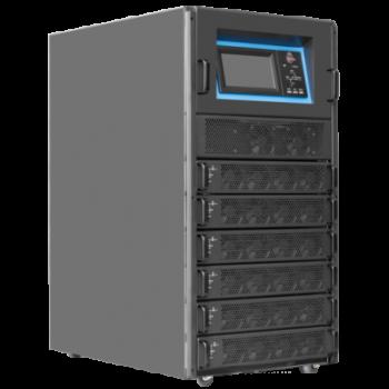 Шасси модульного источника бесперебойного питания 60 кВА/60 кВт серии СМ, 6 слотов для силовых модулей 10 кВА/10 кВт (SNR-UPS-ONRT-060-10CMX33)