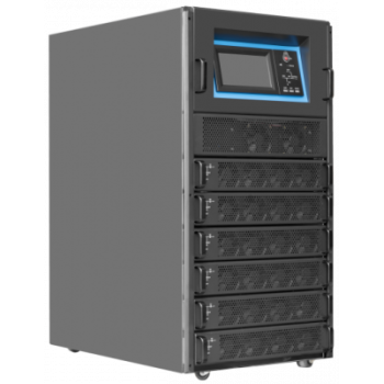 Шасси модульного источника бесперебойного питания 90 кВА/90 кВт серии СМ, 6 слотов для силовых модулей 15 кВА/15 кВт (SNR-UPS-ONRT-090-15CMX33)