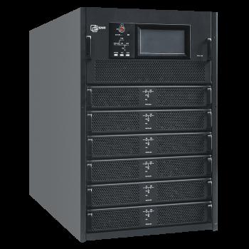 Шасси модульного источника бесперебойного питания 150 кВА/150 кВт серии СМ, 6 слотов для силовых модулей 25 кВА/25 кВт (SNR-UPS-ONRT-150-25CMX33)