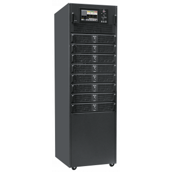 Шасси модульного источника бесперебойного питания 200 кВА/200 кВт серии СМ, 8 слотов для силовых модулей 25 кВА/25 кВт (SNR-UPS-ONRT-200-25CMX33)