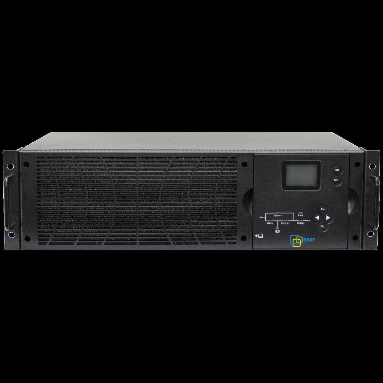 Источник бесперебойного питания on-line, 6000 VA серии MXPL (без АКБ) фаза 3:1 (уценка, после теста)