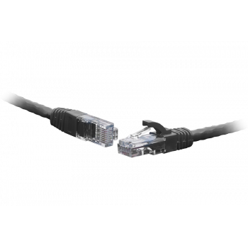Коммутационный шнур U/UTP 4-х парный cat.6 0.5м LSZH standart чёрный