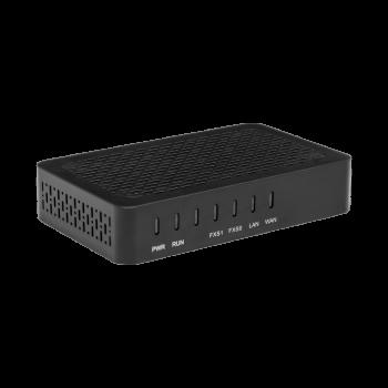 Шлюз VoIP SNR, 2 FXS, 2 RJ45, 2 SIP аккаунта