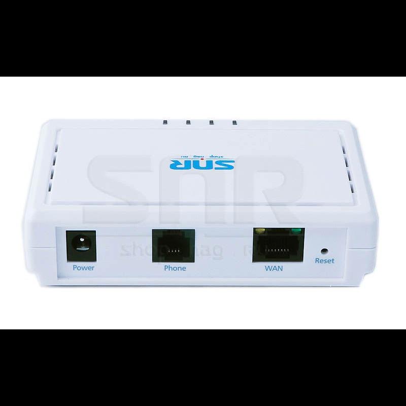 Шлюз VoIP SNR, 1 FXS, 1 RJ45, 1 SIP аккаунт