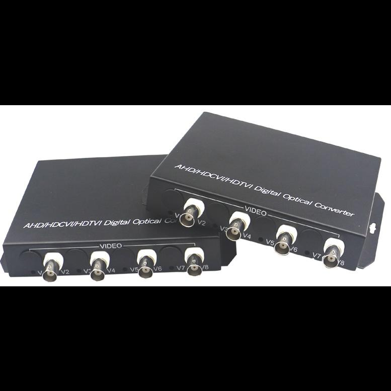 Передатчик видеосигнала SNR-VOE-4VHD-2PS оптический 4-канальный(пара) HD в комплекте с двумя БП 5 В