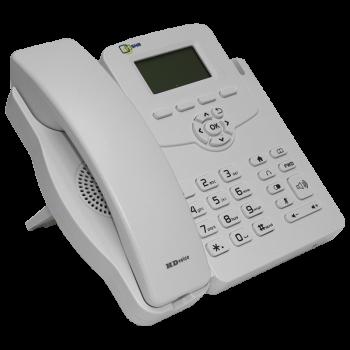 IP-телефон SNR-VP-51W без БП, поддержка PoE, белый цвет
