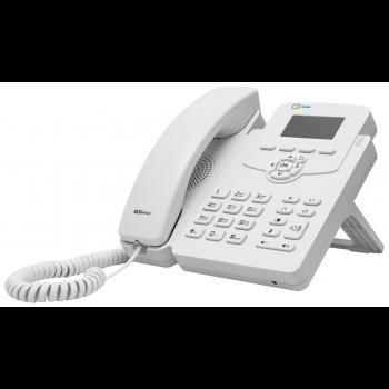 IP-телефон SNR-VP-52W без БП, поддержка PoE, белый цвет