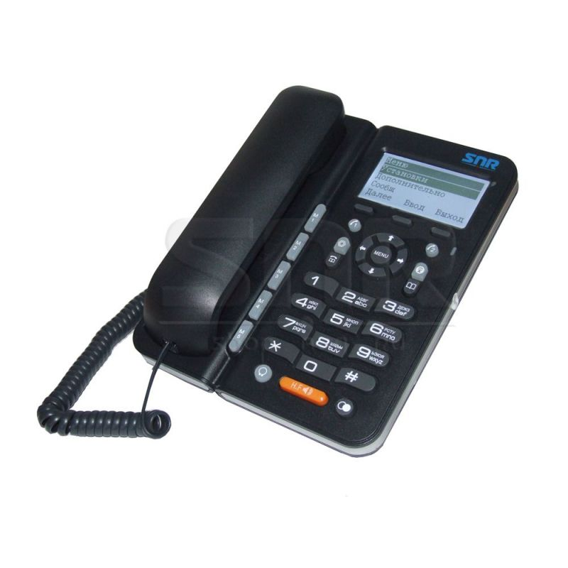 IP-телефон SNR-VP-7030-P (без блока питания, белая коробка, PoE модуль не впаян)