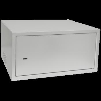 Антивандальный шкаф, тип-распашной высота 4U, глубина 400 мм