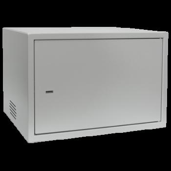 Антивандальный шкаф, тип-распашной высота 6U, глубина 400 мм