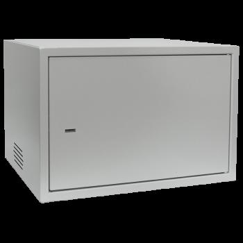 Антивандальный шкаф, тип-распашной высота 6U, глубина 450 мм