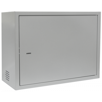 Антивандальный шкаф, тип-распашной высота 8U, глубина 400 мм