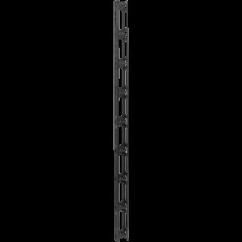 Вертикальный кабельный организатор с крышкой, 95х70мм, 42U