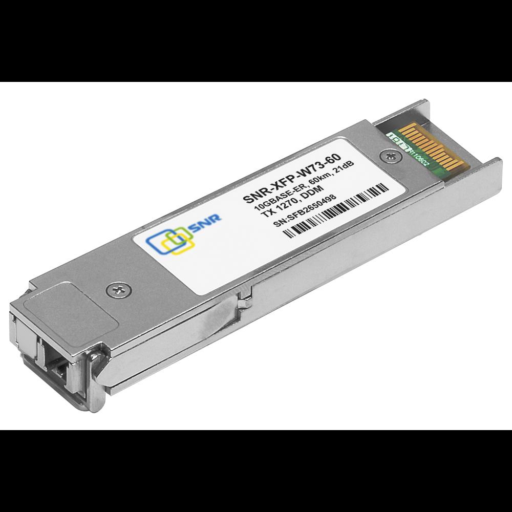 Модуль XFP WDM, дальность до 60км (21dB), 1270нм