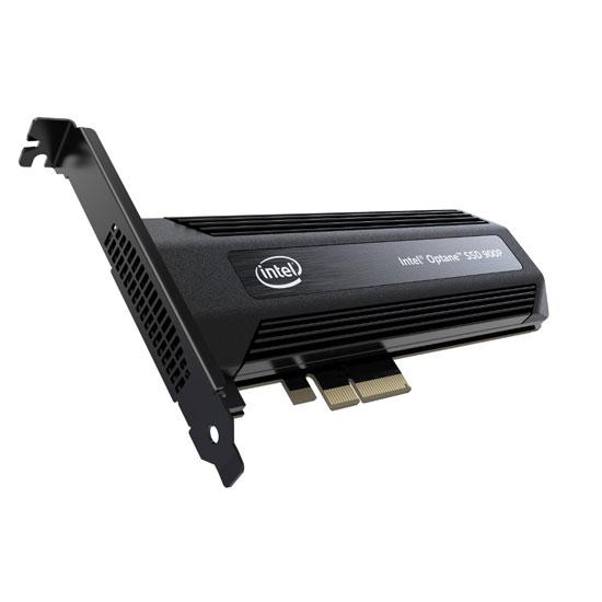 Накопитель SSD Intel Optane 900P Series 480GB, PCIe 3.0 x4, 3D XPoint, HHHL