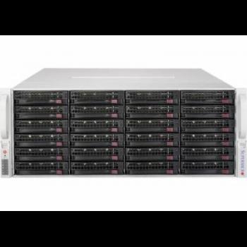 "Платформа Supermicro 4U SSG-5048R-E1CR36L, Один процессор E5-2600v3/v4, Intel C612, DDR4, 36x3.5""HDD, 2x2,5""HDD, SAS3 via LSI 3008 (режим IR)"