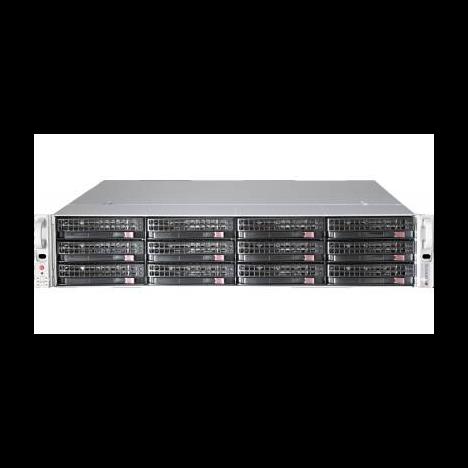 "Платформа Supermicro 2U SSG-6029P-E1CR12T, Два процессора Intel Xeon Scalable, DDR4, 12x3.5"" SAS/SATA HDD, 2x10GBase-T"