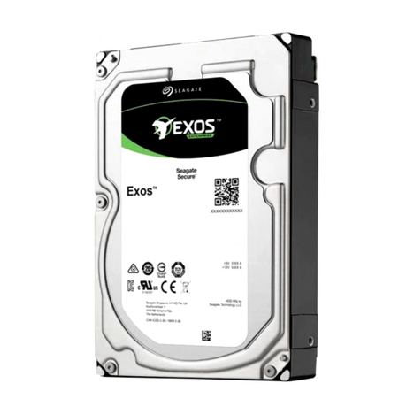 """Жесткий диск Seagate Exos 12Tb 7.2k 512e 256MB 3.5"""" SATA"""