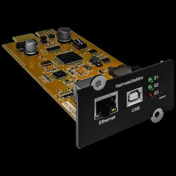 Модуль удаленного мониторинга SNMP-CARD для ИБП, уценка