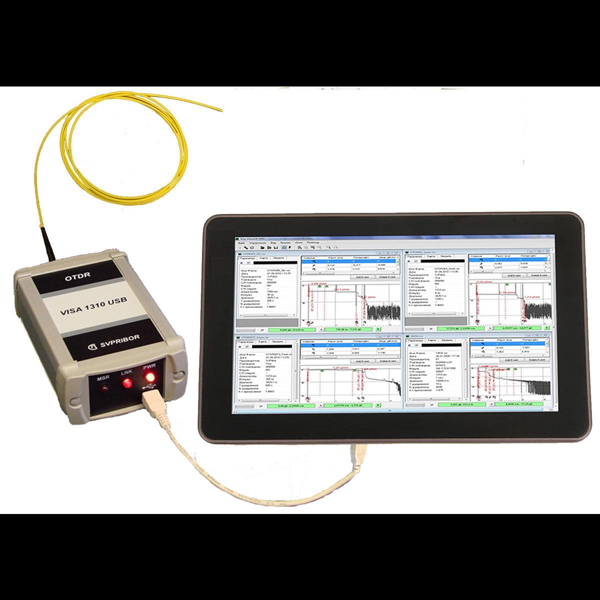 Рефлектометр оптический  Связьприбор VISA USB1310 (модуль М2)