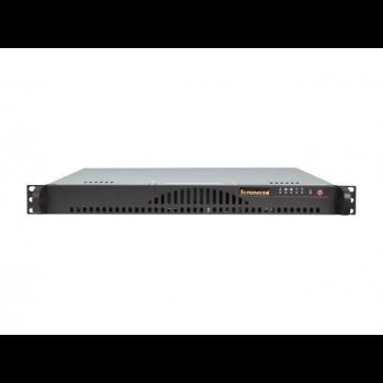 "Платформа мини-сервер 1U Supermicro SYS-5018A-MLTN4, процессор Intel Atom C2550, DDR3, 2x3.5"" HDD"