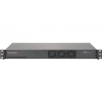 """Платформа мини-сервер Supermicro 1U SYS-5019S-L, E3-1200V5, DDR4, 2x2.5""""HDD, 2х1000Base-T"""