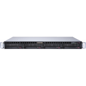 "Платформа Supermicro 1U SYS-6019P-MTR, До двух процессоров Intel  Xeon Scalable, DDR4, 4x3,5"" HDD SATA, 2x1000Base-T"
