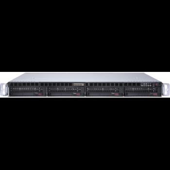 "Платформа Supermicro 1U SYS-6019P-MTR, До двух процессоров Intel  Xeon Scalable, DDR4, 4x3,5"" HDD SATA, 2x1000Base-T"