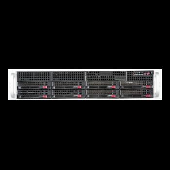 "Платформа Supermicro 2U SYS-6028R-WTR, до двух процессоров E5-2600v3/v4, DDR4, 8x3,5"" HDD SATA, 2x1000Base-T"