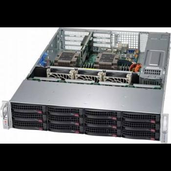 "Платформа Supermicro 2U SYS-6029P-WTRT, Два процессора Intel  Xeon Scalable, DDR4, 12x3,5"" HDD SATA, 2x10Gbase-T"