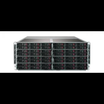 "Платформа Supermicro 4U SYS-F619P2-FT, до 16 процессоров Intel Xeon Scalable, DDR4, 32x2.5"" HDD, 16x10GBase-T"