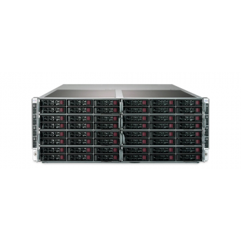 "Платформа Supermicro 4U SYS-F619P2-FT, до 16 процессоров Intel Xeon Scalable, DDR4, 32x2.5"" HDD, 16x10GBase-T"